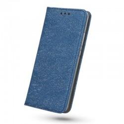 Etui portefeuille Shine bleu nuit pour iPhone X/ XS
