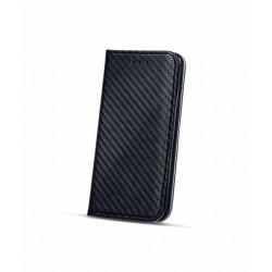 Etui portefeuille carbone noir pour iPhone X/ XS