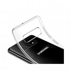 Coque silicone souple transparente pour Samsung Galaxy S10e