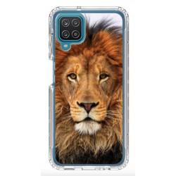 Coque souple Lion 3 pour Samsung Galaxy A12