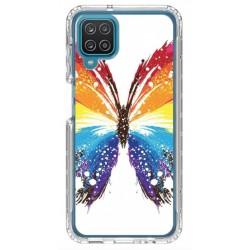 Coque souple Papillon pour Samsung Galaxy A12