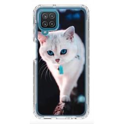 Coque souple Chat 2 pour Samsung Galaxy A12