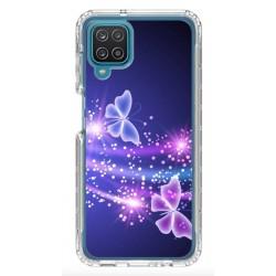 Coque souple Papillon Neon pour Samsung Galaxy A42 5G