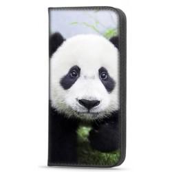 Etui portefeuille Panda pour Samsung Galaxy A12