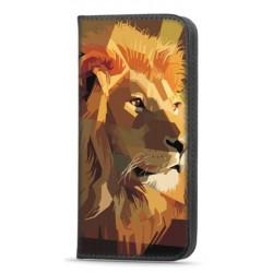 Etui portefeuille Lion 2 pour Samsung Galaxy A12