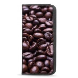 Etui portefeuille Café pour Samsung Galaxy A12