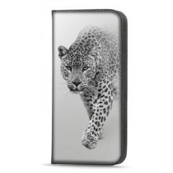 Etui portefeuille Leopard pour Samsung Galaxy A22 4G