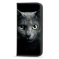 Etui portefeuille Beauty Cat pour Samsung Galaxy A22 4G