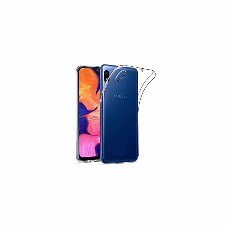 Coque silicone souple transparente pour Samsung Galaxy A10
