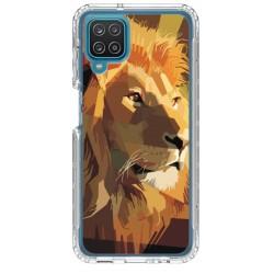 Coque souple Lion 2 pour Samsung Galaxy A22 4G