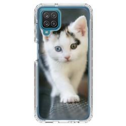 Coque souple Chat pour Samsung Galaxy A12