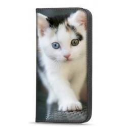 Etui portefeuille Chat pour Samsung Galaxy A52S 5G