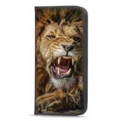 Etui portefeuille Lion pour Samsung Galaxy A52S 5G