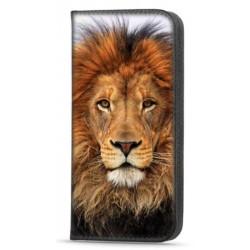 Etui portefeuille Lion 3 pour Samsung Galaxy A52/ A52S 5G