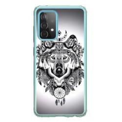 Coque souple Wolf pour Samsung Galaxy A52/ 52S 5G