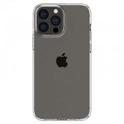 Coque silicone souple transparente pour iPhone 13 Pro