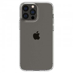 Coque silicone souple transparente pour iPhone 13