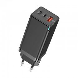 Chargeur rapide et puissant de 65W 2x USB-C 1x USB