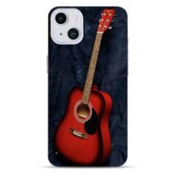 Coque souple Guitare pour Apple iPhone 13