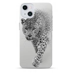 Coque souple Léopard 2 pour Apple iPhone 13