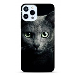 Coque souple Black Cat pour Apple iPhone 13 Pro MaX