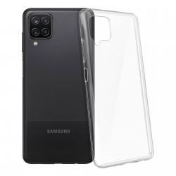Coque silicone souple transparente pour Samsung Galaxy A12