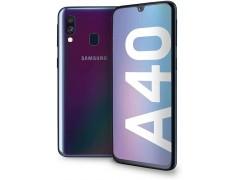 Coque silicone souple transparente pour Samsung Galaxy A40