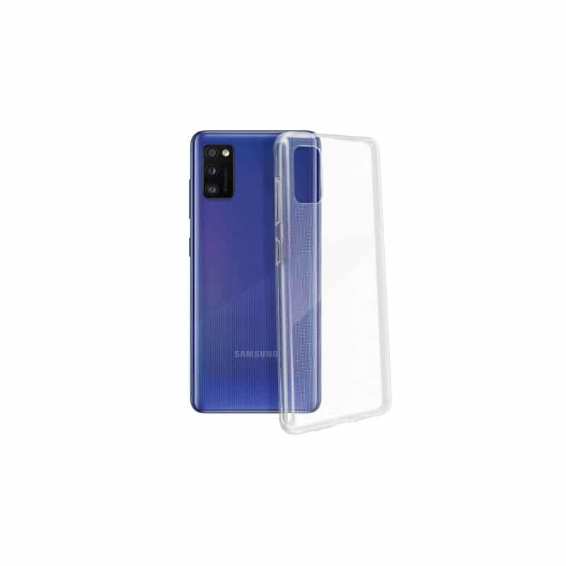 Coque silicone souple transparente pour Samsung Galaxy A41