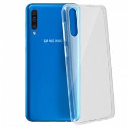 Coque silicone souple transparente pour Samsung Galaxy A50