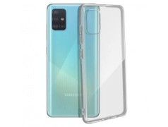 Coque silicone souple transparente pour Samsung Galaxy A51