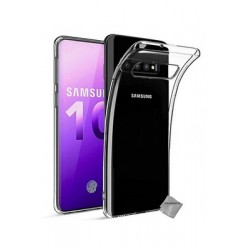 Coque silicone souple transparente pour Samsung Galaxy S10