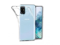 Coque silicone souple transparente pour Samsung Galaxy S20