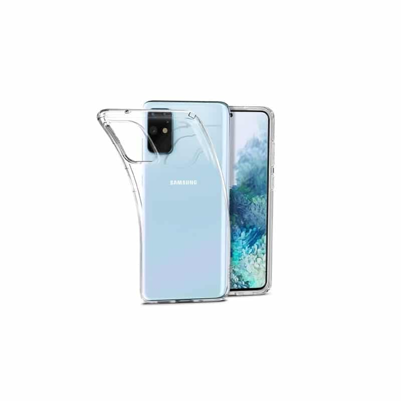 Coque silicone souple transparente pour Samsung Galaxy S20+