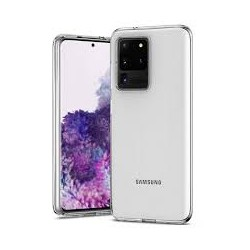 Coque silicone souple transparente pour Samsung Galaxy S20 Ultra
