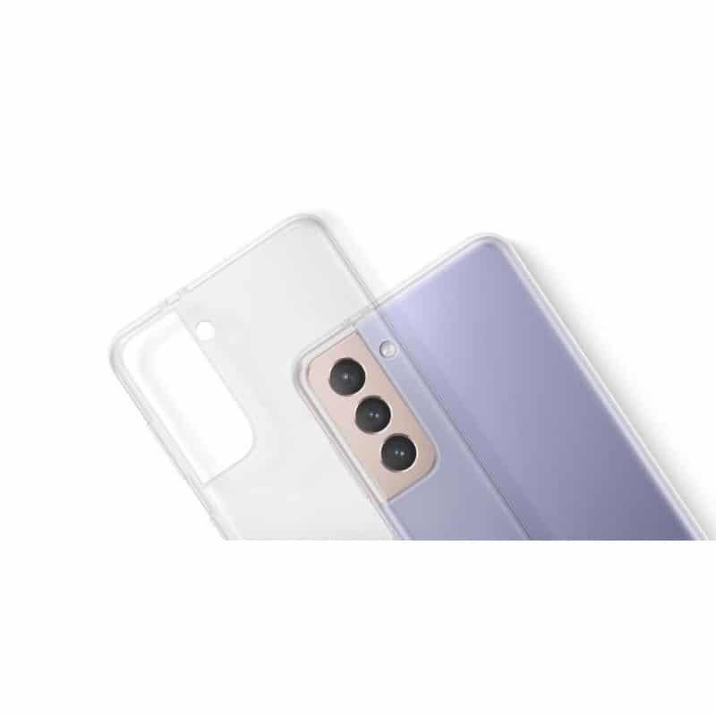 Coque silicone souple transparente pour Samsung Galaxy S21