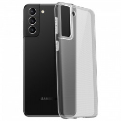 Coque silicone souple transparente pour Samsung Galaxy S21 Plus