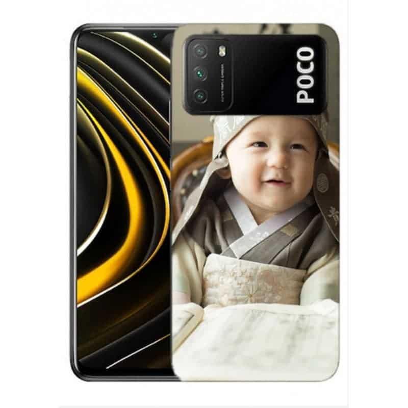 Coque souple en gel à personnaliser Xiaomi Poco M3