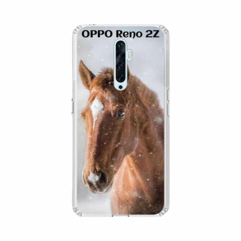 Coque souple en gel à personnaliser Oppo Reno 2Z
