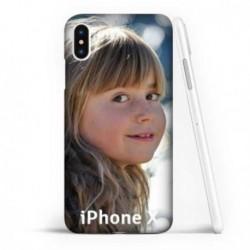 Coque souple en gel à personnaliser iPhone X/Xs