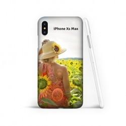 Coque souple en gel à personnaliser iPhone Xs Max
