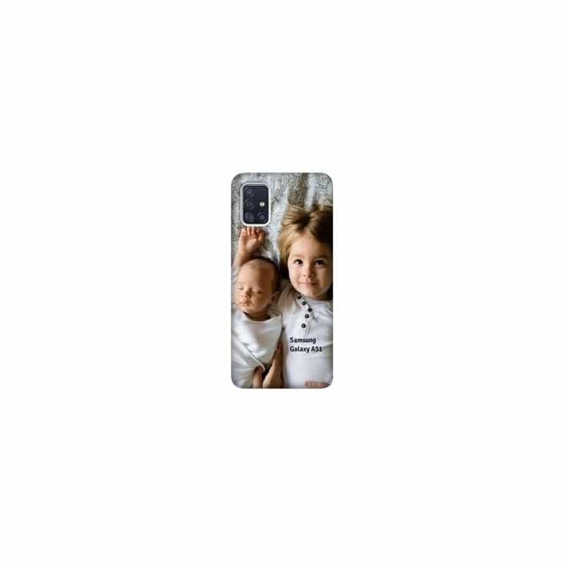 Coque souple en gel à personnaliser Samsung Galaxy A51